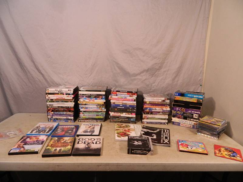DVDs, P90X, and Media | New Merchandise, Patio, Tools