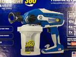 16Y385 – Graco TrueCoat 360 Handheld Airless Paint Sprayer   in good working cond.