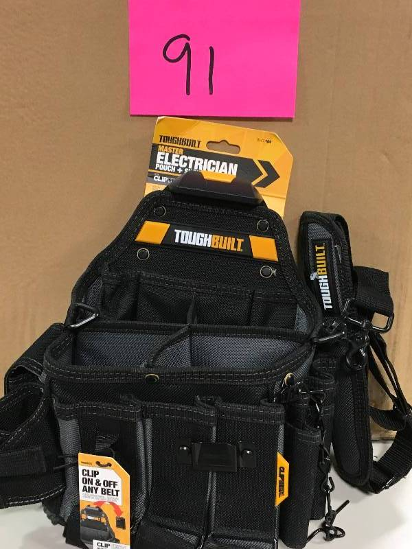 52008900e1 Journeyman Electrician Pouch Shoulder Strap