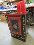 HAND-PAINTED CABINET BY PIPKA