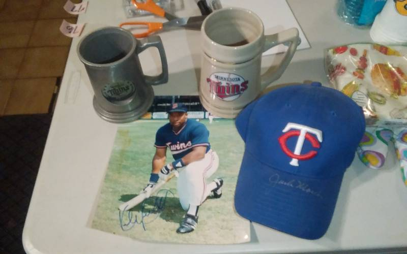 c0118e1e0828f MN Twins Collectibles (Kirby Puckett Autographed Photo   Autographed ...