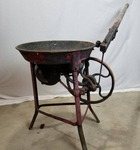 Vintage Hand Crank Blacksmith Forge Table