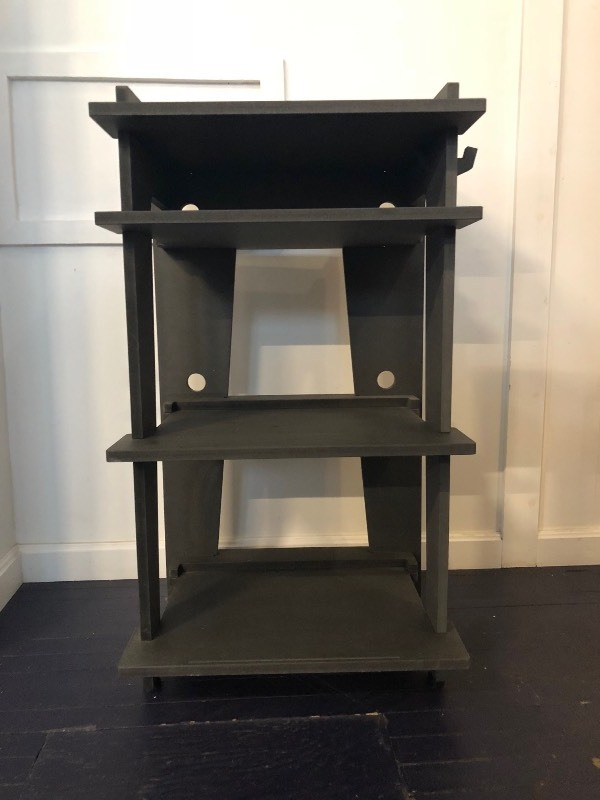 Line Phono Turntable Station Turntable Stand Vinyl Record Storage