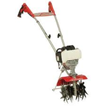 MANTIS 25cc 4-Cycle Plus Gas Mini Tiller not used
