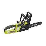 Ryobi ONE+ 12 in. 18-Volt Brushless Lithium-Ion Electric Cordless Chainsaw - 4.0 Ah Battery and Charger Included not used