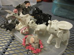 LENOX CERAMIC ELEPHANTS AND OTHERS