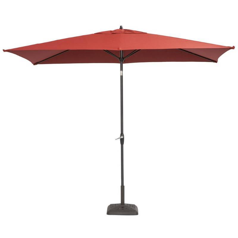 Hampton Bay 6 Ft Aluminum Patio Umbrella With Push On Tilt Model 9106 01004011 Mn Home Outlet Auction Burnsville 58 K Bid