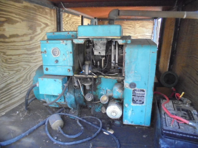 Onan Generator With Yard Trailer
