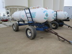Twin 1000 gal Anhydrous Tanks