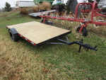 1998 7'x11' Heavy Duty Utility Trailer