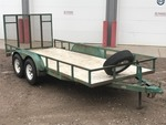 1996 Kesler Tandem Axle Equipment Trailer