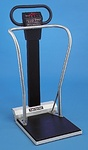 MSRP $3500 Scale Tronix 5002 Digital 880LB Bariatric Patient Stand On With Balance Bars Weighing Scale - Great For Large Packages Animals Etc