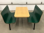 Plymold Commercial Dining Booth Set