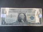 Lot of (3) #1 Silver Certificates - 1957,1957-A,1957-B
