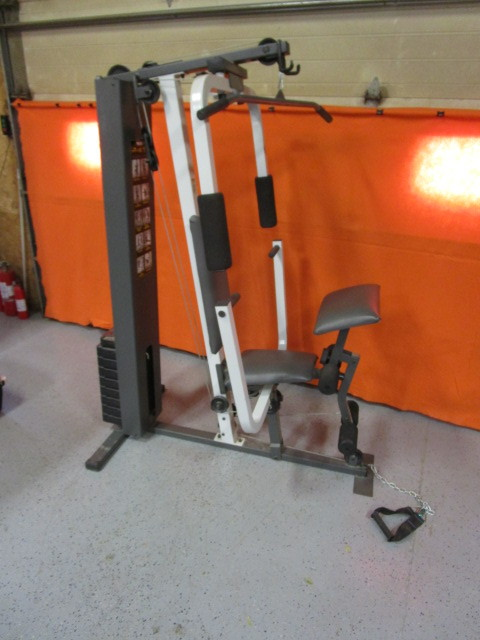 Weider 245 Weight Lifting Machine Rv Enclosed Trailer Houshold Diecast Cars Much More K Bid
