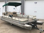 1987 Sun Patio Pontoon With 25HP Mercury 4-Stroke