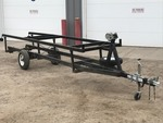 1992 Newmans Pontoon Trailer