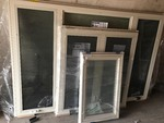 (3) Unused Vinyl Windows