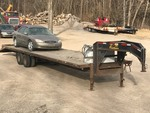 2007 E&W Gooseneck Equipment Trailer