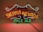 Neon Sign Sierra Nevada