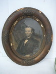 Antique Frame and Picture of Abraham Lincoln