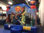Superman 15 Ft. x 15 Ft.  Bounce House