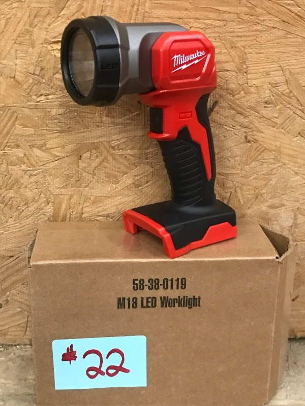 Milwaukee LED Work Light | New Milwaukee Tools & More---Christmas Is