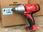 "Milwaukee 1/2"" High-Torque Impact Wrench"