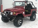 1976 Toyota FJ40 --- Buyer's Premium Capped At $1,000