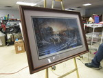 """PLEASURES OF WINTER"" BY TERRY REDLIN HAND SIGNED AND NUMBERED"