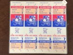 "4-Ticket ""MN Twins--Phantom"" 1979 World Series Tickets"