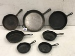 7-Piece Cast Iron Cook Set
