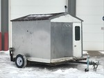 2012 Homemade Fish House Trailer