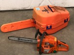 "Husqvarna ""136"" Chainsaw With Case"