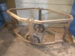Antique Bomb Carrier Octagon Cart