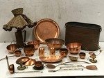 Assorted Collectibles, Lamp, Etc