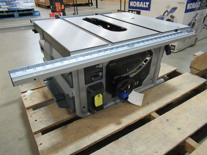 Groovy Kobalt 10 In Carbide Tipped 15 Amp Table Saw Kt1015 Download Free Architecture Designs Scobabritishbridgeorg