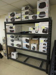 HIGH QUALITY COMMERCIAL SHELVING