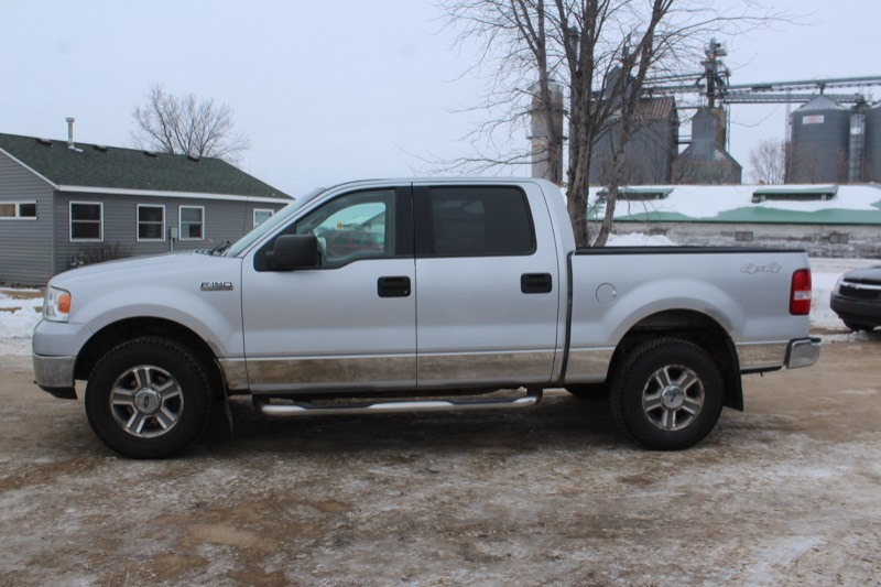 2005 Ford F150 Xlt 4x4 Crew Cab 728 Mn Auto Auctions No Reserve