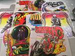 Lot of 10 Heat Press Transfers Moto...