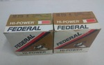 2-Boxes Of 25 Each Federal High Power Shotgun Shells As Shown