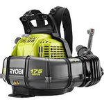 RYOBI 175 MPH 760 CFM 38cc Gas Backpack Leaf Blower open box in like new condition