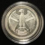 1 TROY OZ. .999 FINE SILVER 1973 LETCHER MINT IN AIRTITE