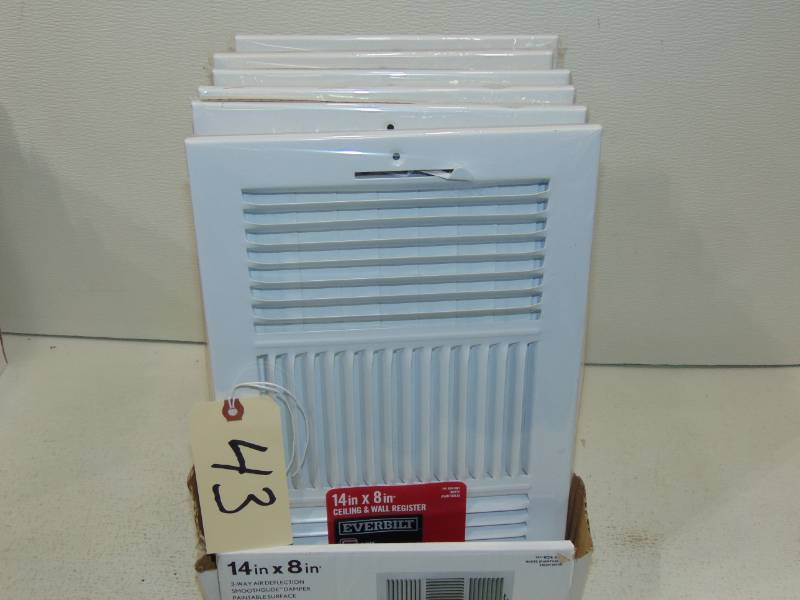 Heat Register | We Sell Your Stuff Inc  Auction 16 | K-BID