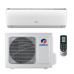 12,000 Btu 16 Seer Gree Livo Single Zone Ductless Mini Split Heat Pump System (115V) in good conditions