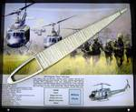 HUEY HELICOPTER ROTOR BLADE