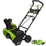 Greenworks Digi-Pro GMAX 20 in. 40-Volt Cordless Electric Snow Blower - Battery and Charger Included in like new condition