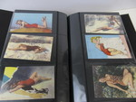 Album Full of Vintage Pinup Girl etc Postcards & Hollywood Stars Arcade Cards