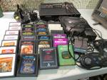 2 Gaming Systems Atari 2600 and Seg...