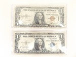 1935-A Hawaii and 1935-D Silver Certificates